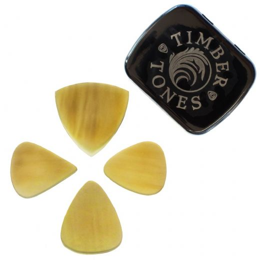 Flexi Tones Mixed Tin of 4 Guitar Picks